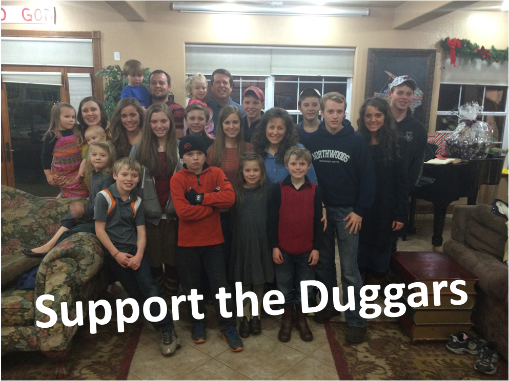 Support the duggars - Duggar Fan Forever Fan Page